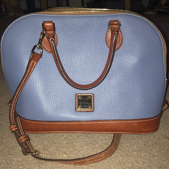 Dooney & Bourke Handbags - Dooney & Bourke pebble grain zip satchel